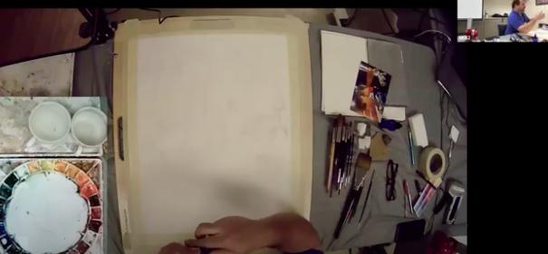 Paul Jackson Painting Glass 9-14 am
