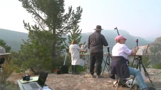 Plein Air Live at Ring Lake
