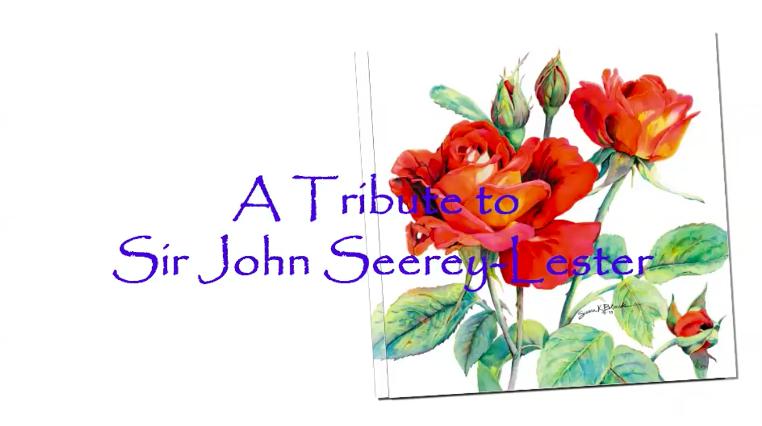 John Seerey Lester Tribute Tribute