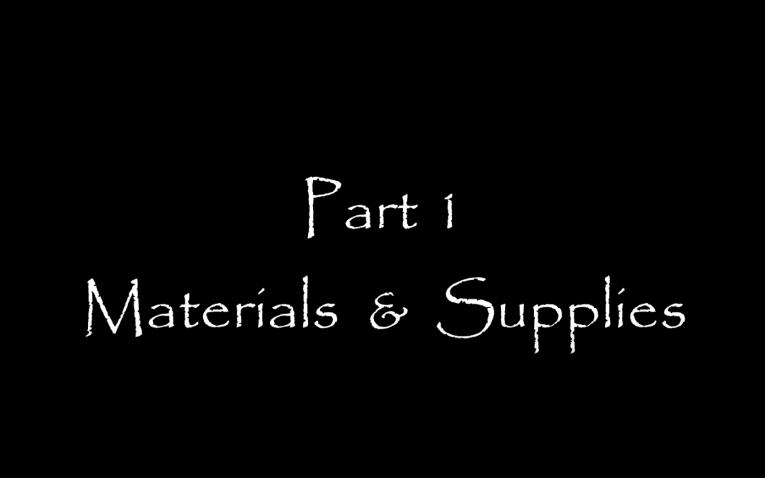 Introduction to Plein Air Oil Painting – Part 1: Materials and Supplies