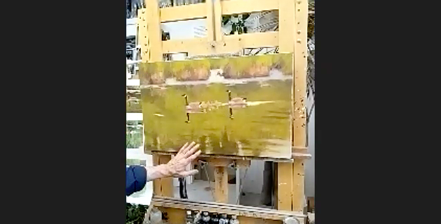 Jim Coe-Oil / Painting Wildlife in Landscape Session #2