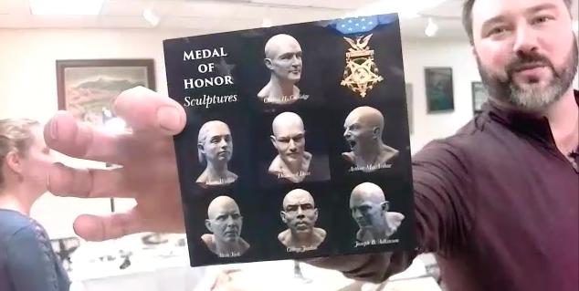 Caleb Goggans-Sculpture, Grand Gestures