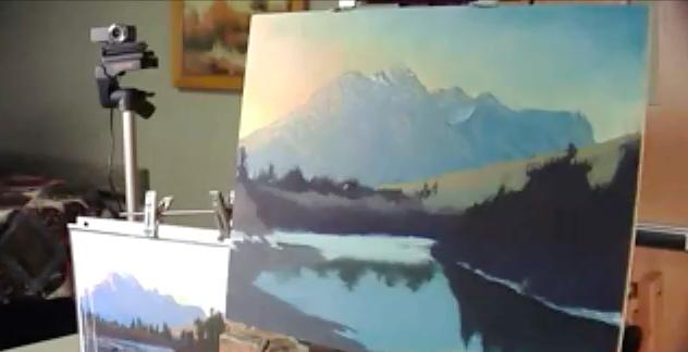 Ken Shanika Oil / Painting Pikes Peak